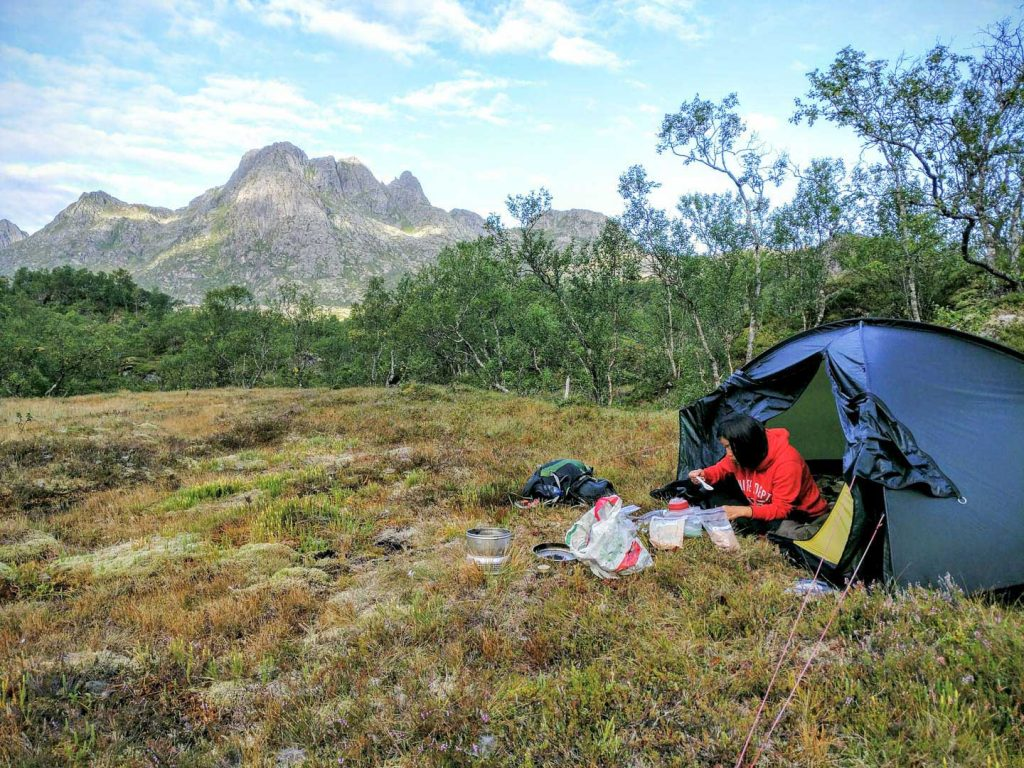 Camping in Norway Everymansright