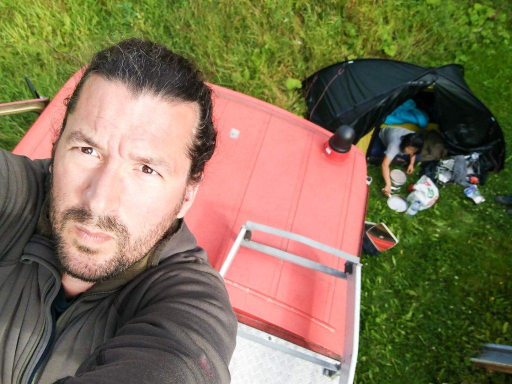 Gerhard Reus Camping in Norway